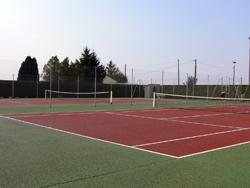 Les equipements de la commune de vaudry for Mesure terrain de tennis